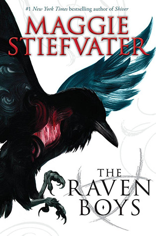 The Raven Boys by Maggie Stiefvater graphic