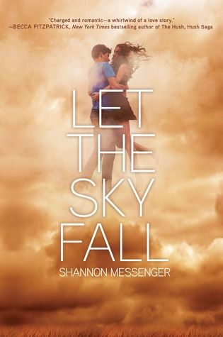 Review: Let The Sky Fall by Shannon Messenger graphic