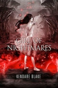 Review: Girl of Nightmares by Kendare Blake graphic