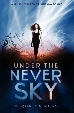 Review: Under the Never Sky by Veronica Rossi graphic