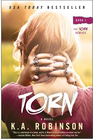 Torn by K.A. Robinson graphic