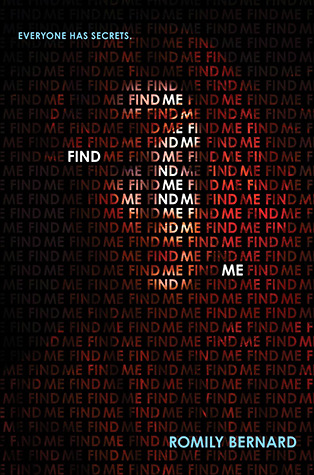 Find Me by Romily Bernard Tour & Giveaway!