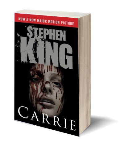 Carrie by Stephen King ~ A Horror October Review ~ graphic