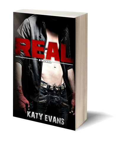 Real by Katy Evans graphic
